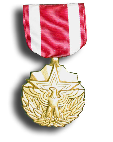 It is the Meritorious Service Medal and is the first one that she has been